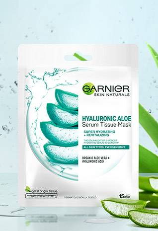 Hyaluronic Aloe tissue mask